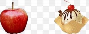 Ice Cream - Sundae Ice Cream Cones Chocolate Ice Cream Waffle PNG