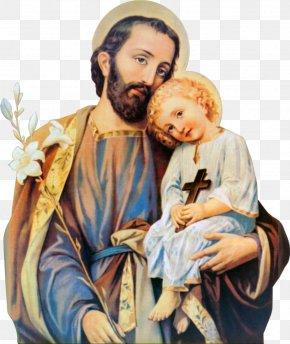 Child - Saint Joseph Child Jesus Father PNG