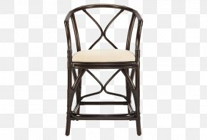 Southeast Asia Backrest Woven Rattan Bar Chairs Wood - Bar Stool Table Rattan Chair PNG