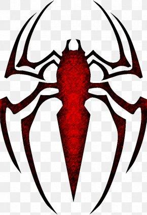 Spiderman Symbol - The Amazing Spider-Man Logo Clip Art PNG