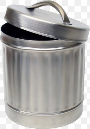 Trash Can - Waste Container Recycling Bin PNG