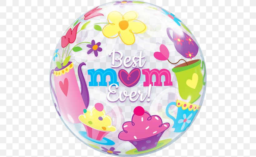 Gas Balloon Mother's Day Mylar Balloon Balloon And Party Service, PNG, 504x504px, Balloon, Baby Shower, Balloon And Party Service, Birthday, Child Download Free