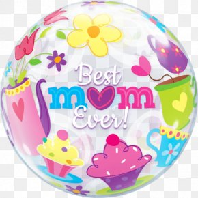 Mother's Day - Gas Balloon Mother's Day Mylar Balloon Balloon And Party Service PNG