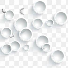 White Circle Background - White Download Adobe Illustrator PNG