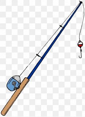 Fishing Rods - Fishing Rod Cartoon Clip Art PNG