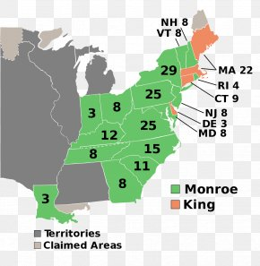 Electoral College - United States Presidential Election, 1804 United States Presidential Election, 1808 United States Presidential Election, 1796 US Presidential Election 2016 PNG