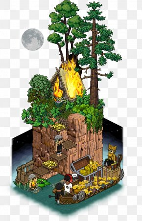 House - Habbo Game House Apartment Viking PNG