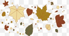 Autumn Breath Poster - Leaf Autumn Poster PNG