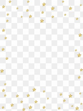 Golden Star Pattern - Line Textile Point Angle Pattern PNG