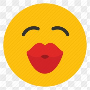 Kiss Smiley Transparent Image - Smiley Emoticon Kiss Icon PNG