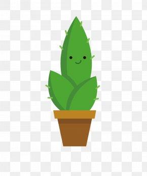 Cactus - Flowerpot Cactaceae Euclidean Vector Plant PNG