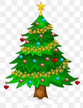 Transparent Xmas Tree Clipart - Artificial Christmas Tree PNG