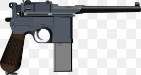 Weapon - First World War Mauser C96 Semi-automatic Pistol Firearm PNG