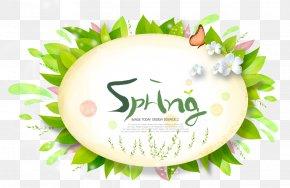 Korean Style Floral Illustration Grass Free Downloads - Download Illustration PNG