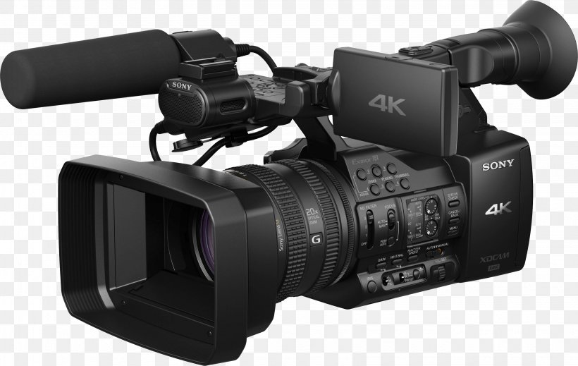 4K Resolution Sony XDCAM Video Camera XAVC, PNG, 3270x2070px, 4k Resolution, Active Pixel Sensor, Camcorder, Camera, Camera Accessory Download Free