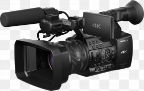 Video Camera Image - 4K Resolution Sony XDCAM Video Camera XAVC PNG