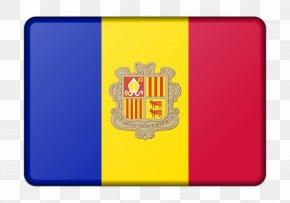 Flag - Flag Of Andorra National Flag Image PNG