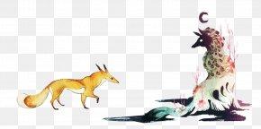 Vector Fox - Fox Fauna Pet Illustration PNG
