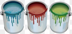 Bucket Album - Paint Can Stock Photo Illustration PNG