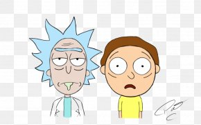 Rick And Morty Pic - Rick Sanchez Cartoon T-shirt PNG