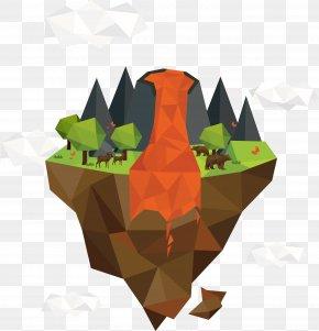 Geometric Volcano - Mayon Volcano Bxe1rxf0arbunga Euclidean Vector Lava PNG