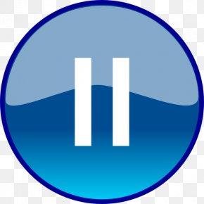 Background Hd Transparent Pause Button - Button Clip Art PNG