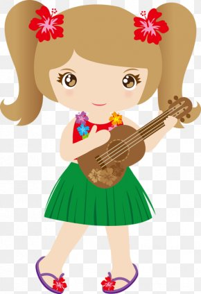 Aloha Summer - Drawing Ukulele Hawaii Clip Art PNG