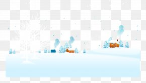 Posters Snowy Winter Background Material - Graphic Design Text Brand Illustration PNG