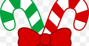 Candy Cane Border - Candy Cane Clip Art PNG