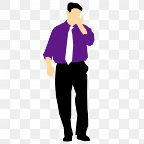 A Man In A Suit - Communication Source Information Chemical Element PNG