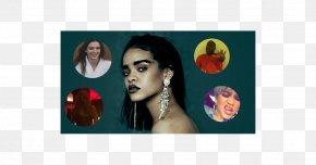 Cara Delevingne - Modern Art Photomontage Collage Picture Frames PNG