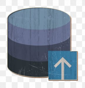 Electric Blue Aqua - Server Icon Database Icon Interaction Assets Icon PNG