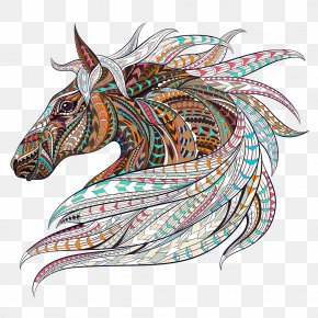 Adult Coloring / Colouring Book Horse Coloring Books For Adults Horse Coloring Book: Coloring Stress Relief Patterns FoHorse - Horse Coloring Book For Adults: An Adult Coloring Book Of 40 Horses In A Variety Of Styles And Patterns The Wonderful World Of Horses PNG