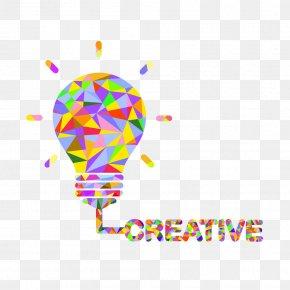 Light Bulb - Incandescent Light Bulb Idea Creativity Concept PNG