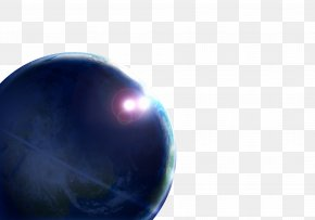 Gorgeous Planet Backlight Material - Sphere Wallpaper PNG