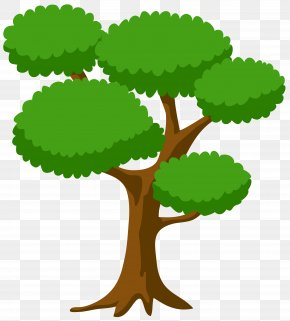 Tree Large Clip Art Image - Christmas Tree Clip Art PNG
