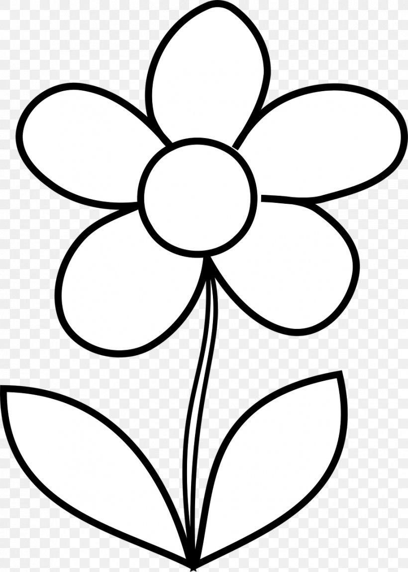 Flower Coloring Book