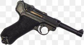 Handgun - Trigger Luger Pistol Firearm FB Vis PNG