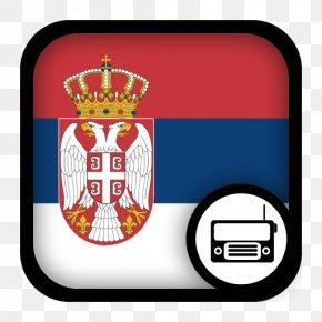 Flag - Flag Of Serbia Serbia And Montenegro Civil Flag PNG