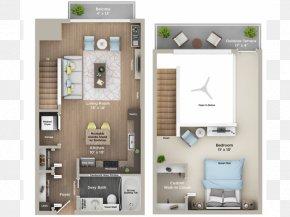 Top View Bath - Morrow Park City Apartments Floor Plan Interior Design Services PNG