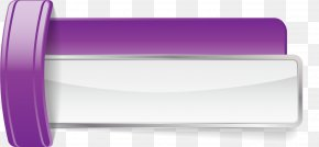 Purple Tag Banner - Purple Web Banner Clip Art PNG