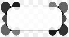 Geometric Border Cliparts - Text Box Clip Art PNG