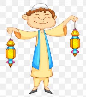 Muslim Boy - Muslim Islam Clip Art PNG