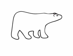 Cute Polar Bear Cartoon - Polar Bear American Black Bear Brown Bear Giant Panda PNG