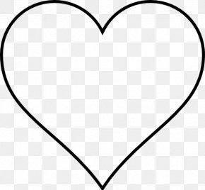 Black Love Art Pictures - White Heart Black Line Art Pattern PNG
