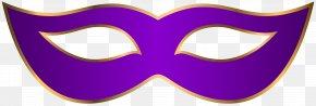 Purple Carnival Mask Clip Art Transparent Image - Glasses Text Goggles Clip Art PNG