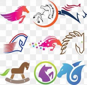 Creative Vector Horse Logo Design - Horse Logo Euclidean Vector Clip Art PNG