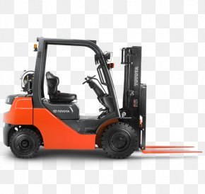 Flt - Toyota Forklift Material Handling Heavy Machinery Truck PNG