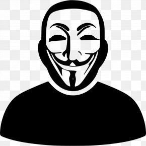Anonymous - Anonymous Security Hacker Sticker Hacktivism Anonops PNG