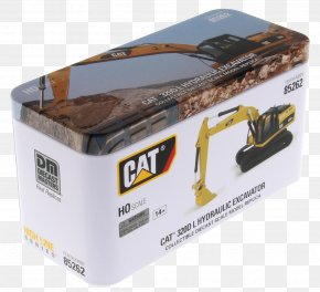 Excavator - Caterpillar Inc. HO Scale Excavator Die-cast Toy Scale Models PNG